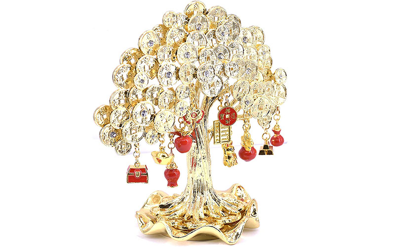 Дерево фэн-шуй 3 вида богатства